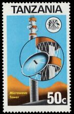 "TANZANIA 54 (SG177) - Telecommunications ""Microwave Tower"" (pa34558)"