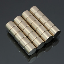 20pcs N50 Strong Round Cylinder Magnets 10 mm x 8 mm Rare Earth Neodymium Magnet