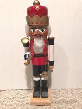 """❤️STEINBACH NUTCRACKER """"HELLO, I AM THE KING"""" ~ RARE ORIGINAL ~ COLLECTOR ITEM❤️"""
