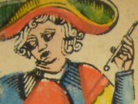Tarot de Nicolas Conver - Facsimilé contrecollé artisanalement à l'ancienne