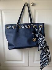 Michael Kors Blue Tote Handbag Jetsetter