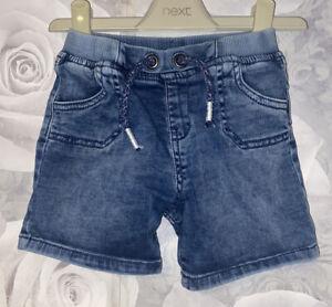 Boys Age 9-12 Months - Denim Shorts