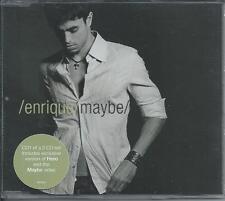 ENRIQUE IGLESIAS - Maybe CDM 3TR Enhanced (CD1) EU PRINT 2002 (INTERSCOPE)