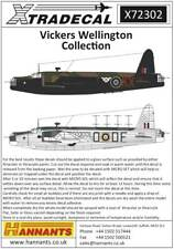 Planche decals XTRADECAL pour Wellington 1/72 X72302