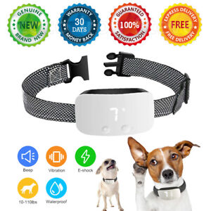 🔥 2020 Anti Bark Dog Training Collar Electric Sound Vibrate/Shock Stop Barking