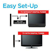 Clear TV Key HDTV FREE TVDigital Indoor Antenna Cable Ditch As Seen on TV US EU
