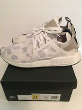 best website e98fe 1397a Adidas NMDXR1 Boost Duck Camo shoes sneakers new BA7233 White Sz 13