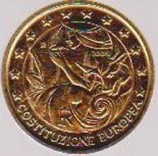 2005 Italien - 2 Euro - EU-Verfassung - VOLLVERGOLDET - NUR 5000 Exemplare