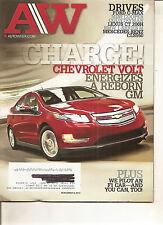 Autoweek Nov 8, 2010 - Chevrolet Volt - Lexus CT 200H - Ford C-Max - Mini Cooper