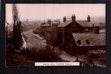 Thorpe Hesley, between Rotherham & Doncaster - Brook Hill - RP postcard