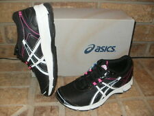 New ASICS Gel Quick Walk 2 Shoe/Black-White-Pink Women 6 M/ Q743N 9001
