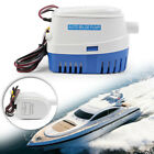 600GPH 12V Marine Boat Automatic Submersible Bilge Auto Water Pump Float Switch photo