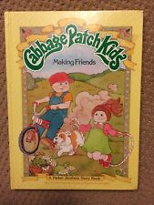 Vintage Cabbage Patch Kids Making Friends Book 1984