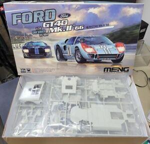 FORD GT40 Mk.II 1966 MENG 1/24 plastic model kit CS-004