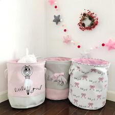 Tote bag children's toys cotton laundry basket storage bag fabric storage basket