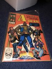 A-Team #1 (1984) Marvel I Pity The Fool who doesn't own this comic!