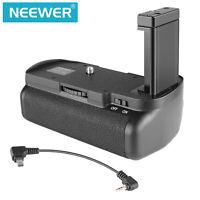 Neewer Multi-Power DSLR Vertical Battery Grip for Nikon D5100 D5200 D5300