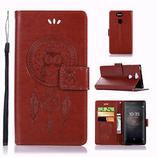PU Leather Wallet Case Card Holder Cover For Sony Xperia XA2/L2/XZ2 Ultra / Mini