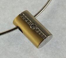 Brillant Damenreif / Collier .750 Weißgold                  #  1400