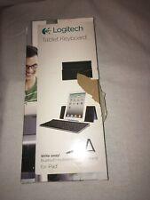 Logitech Y-R0034 Tablet Keyboard for iPad tablets Bluetooth keyboard Black