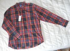 New Men's XL Wrangler Western Shirt Plaid w/Pearl Colored Snaps