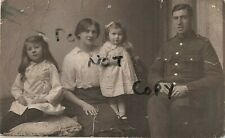 WW1 soldier family group Wife Children Keighley ? Yorkshire