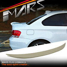 BMW Performance Style ABS Plastic Rear Trunk Lip Spoiler BMW E82 2D Coupe & 1M