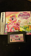 MY LITTLE PONY CRYSTAL PRINCESS RUNAWAY RAINBOW Nintendo GAMEBOY ADVANCE  USED