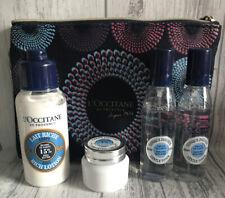 L'Occitane Shea Set Bundle Toner Body Lotion Comforting Cream & Bag *FAST POST*