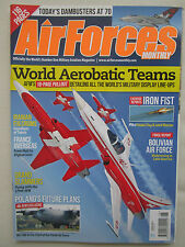 REVUE AFM AIR FORCES MONTHLY 6/2013 WORLD AEROBATIC TEAM FULCRUM TYPHOON BOLIVIA