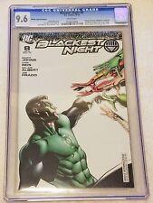 Blackest Night #8 RRP Retailer Incentive 1:250 Variant CGC 9.6 NM+ 2010 Diamond