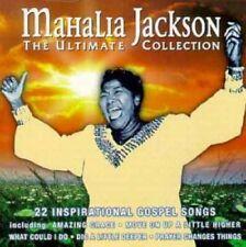Mahalia Jackson Ultimate collection-22 inspirational gospel songs  [CD]