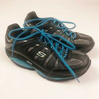 Skechers Shape Ups SRT Shoes Resistance SN12340 Black Blue Womens 8