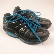 Skechers Shape Ups SRT Shoes Resistance SN12340 Black Blue Womens 8