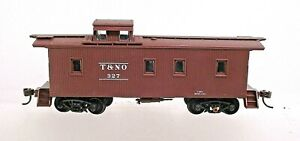 SOUTHERN PACIFIC (T&NO) WOOD CABOOSE PROJECT-HO SCALE