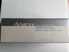NEW SEALED AVON Anew  Clinical Derma-Full X3 Facial Filling Serum 1 oz