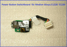 Power Button Switchboard  für Medion Akoya E1228  E1230