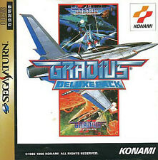 (Used) Sega Saturn Gradius Deluxe Pack [Japan Import]