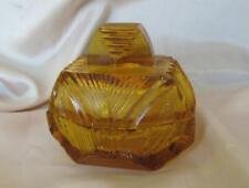 Antique Vintage Art Deco Jewelry Ring Box Chrome /& Leatherette Arrow Hoboken NJ