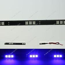 Blue 60CM 2Ft 24' 30 LED 5050 LED Flexible Strip Light Waterproof DRL 12V M015