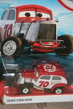 """DISNEY PIXAR CARS 3  """"DUKE COULTERS"""" NEW IN PACKAGE, SHIP WORLDWIDE"""