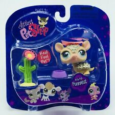 NEW Sealed Littlest Pet Shop Armadillo Real Feel Portable #638 Funniest