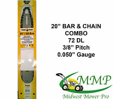 20 IN BAR AND CHAIN COMBO FITS STIHL 029,MS290, MS291M,066, 044, 036 AND MORE