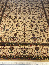 Genuine hand knotted very fine Persian All-over design 6x9 rug