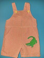 Kelly's Kids Toddler Boy Romper Sleeveless Seersucker Sz 24M One-Piece