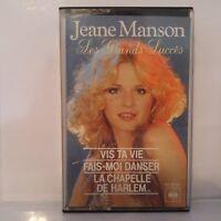 Jeane Manson - Les Grands Succès (Cassette Audio - K7 - Tape)