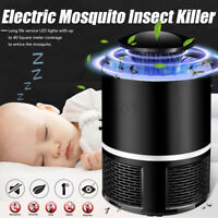 USB Mosquito Insect Killer Electric LED Light Fly Bug Zapper Catcher Trap Lamp