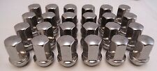 2015-19 Chevy Colorado GMC Canyon Stainless Polished Chrome 14x1.5 Lugs Lug Nuts