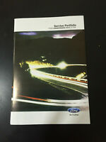 FORD SERVICE BOOK BRAND NEW GENUINE NOT DUPLICATE ALL MODELS PETROL AND DIESEL//