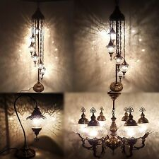 Buy ceramic turkish lamps ebay turkish morrocan ottoman style glass table floor ceiling lamp chandelier aloadofball Images